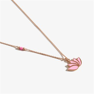 Pembe Pure Love Lotus Rose Gold  Kolye